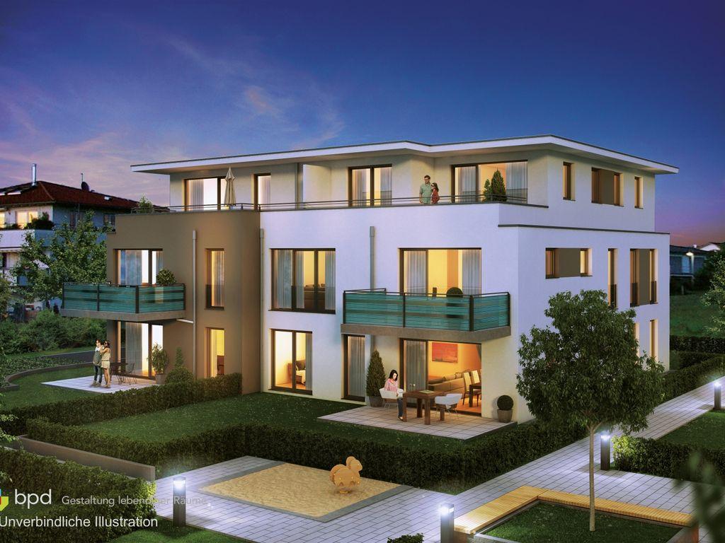 Haus 4: 3 Zimmer Wohnung Im Obergeschoss Mit Balkon