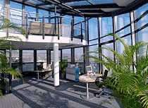DAS Penthouse-Büro im 5 u