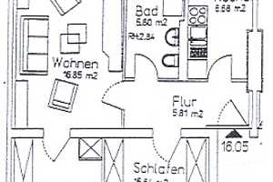 3 Zimmer Wohnung in Erfurt