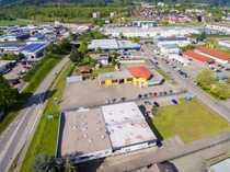 Bild Autohaus direkt an der Grenze
