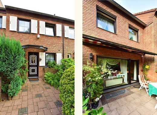 Landhausstil + Süd-Ausrichtung + Sonnenterrasse + bodentiefe Fenster + Kaminofen