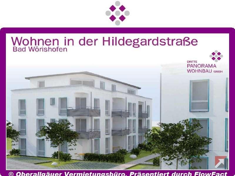 Neubau-3-Zimmer-EG-Wohnung in Bad Wörishofen mit Süd/West-Terrasse (Whg. 22/Haus C) in