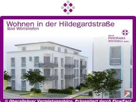 Neubau-3-Zimmer-EG-Wohnung in Bad Wörishofen mit Süd/West-Terrasse (Whg. 22/Haus C) in Bad Wörishofen