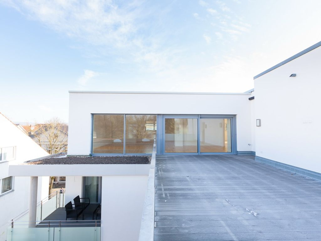 Weitläufiges Penthouse für extravagantes Wohnen