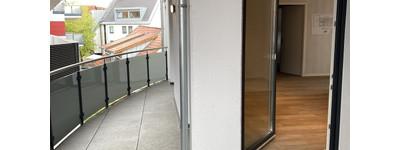 Neubau Wohnung mit Südbalkon