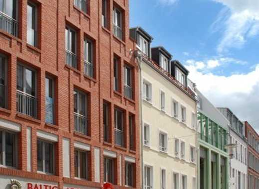 Repräsentative Einzelhandelsfläche in der Fußgängerzone von Stralsund im Quartier 17
