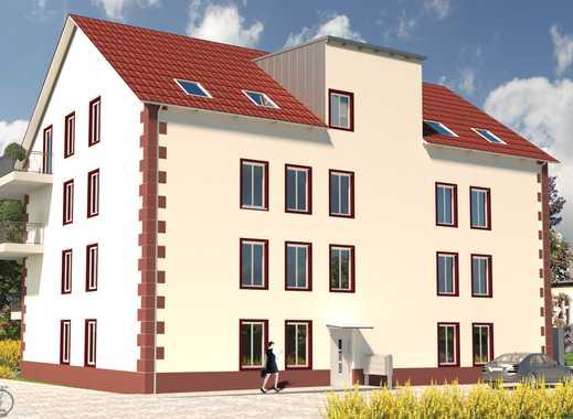 Zentrum von Grünstadt! Moderne barrierefrei EG-Wohnung mit Garten!