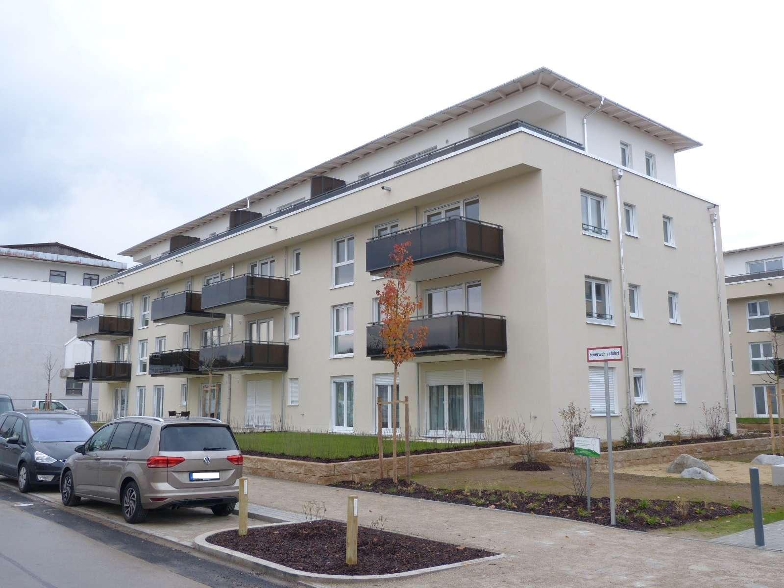 Neu erstellte 2-Zimmer-DG-Wohnung mit Dachterrasse in Unterhaching nahe dem Landschaftspark in Unterhaching