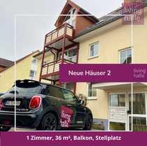 1-Zimmerwohnung mit Balkon Stellplatz