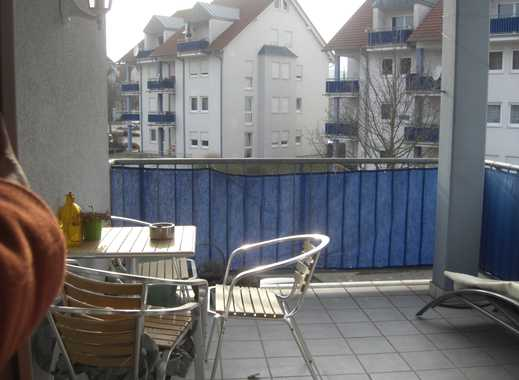 Gepflegte 3-Zimmer-Wohnung mit Balkon und Einbauküche in Mosbach