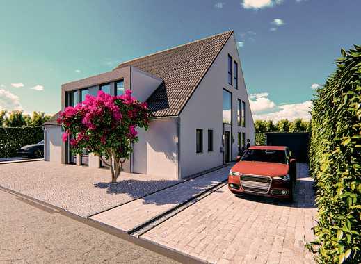 Doppelhaushälfte auf drei Wohnebenen mit Fußbodenheizung!