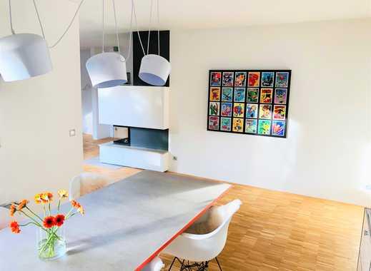 Apartes, modern gestaltetes, freistehendes Haus, 801 m² Grundstück in Mönchgladbach - am Bökelberg!!