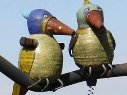 große Vögel