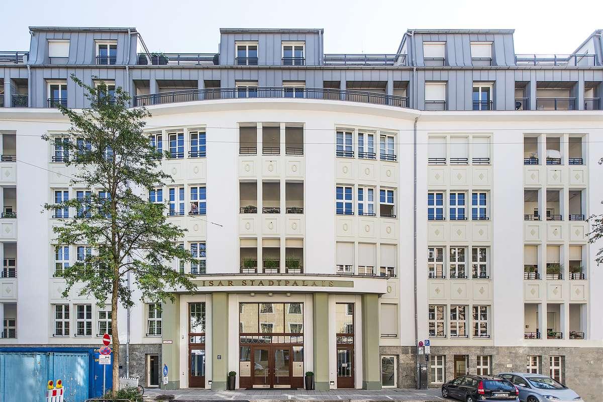 4-Zimmer-Maisonette mit Alpenblick und Concierge in Ludwigsvorstadt-Isarvorstadt (München)