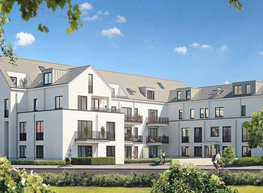 3-Zimmer-Wohnung mit hellen Innenräumen, viel Komfort und Terrasse