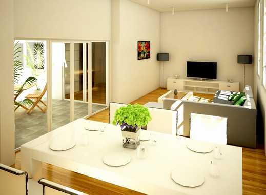Elegante 4-Zi.-Wohnung mit großem Wohn-/Essbereich und Lichthof in besonderem Wohnensemble