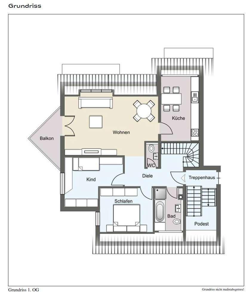 Vollständig renovierte 6-Zimmer-Wohnung mit Balkon und EBK in Heiligenstadt in