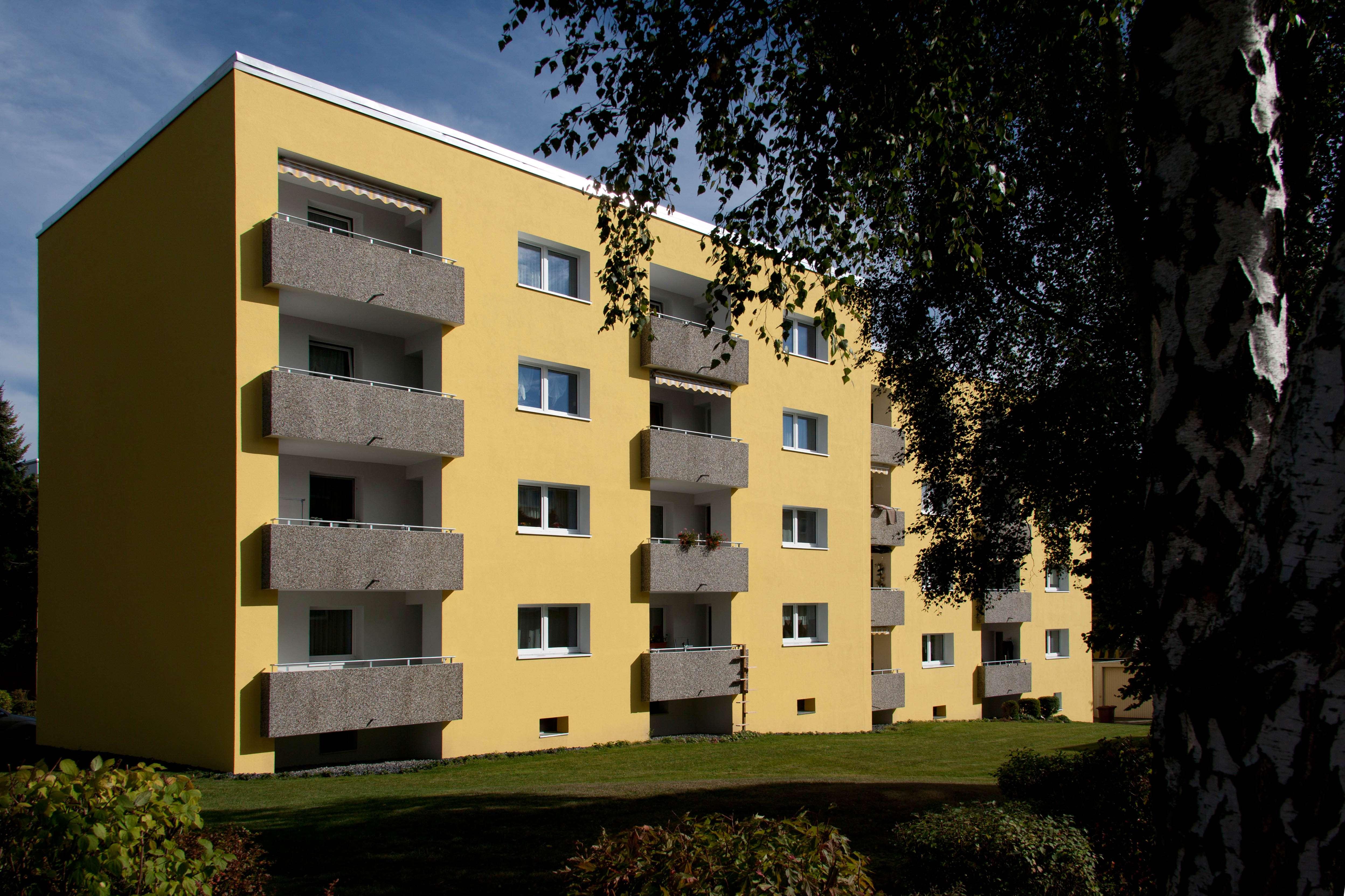 Renovierte Wohnung in ruhiger Stadtrandlage in Hof-Innenstadt