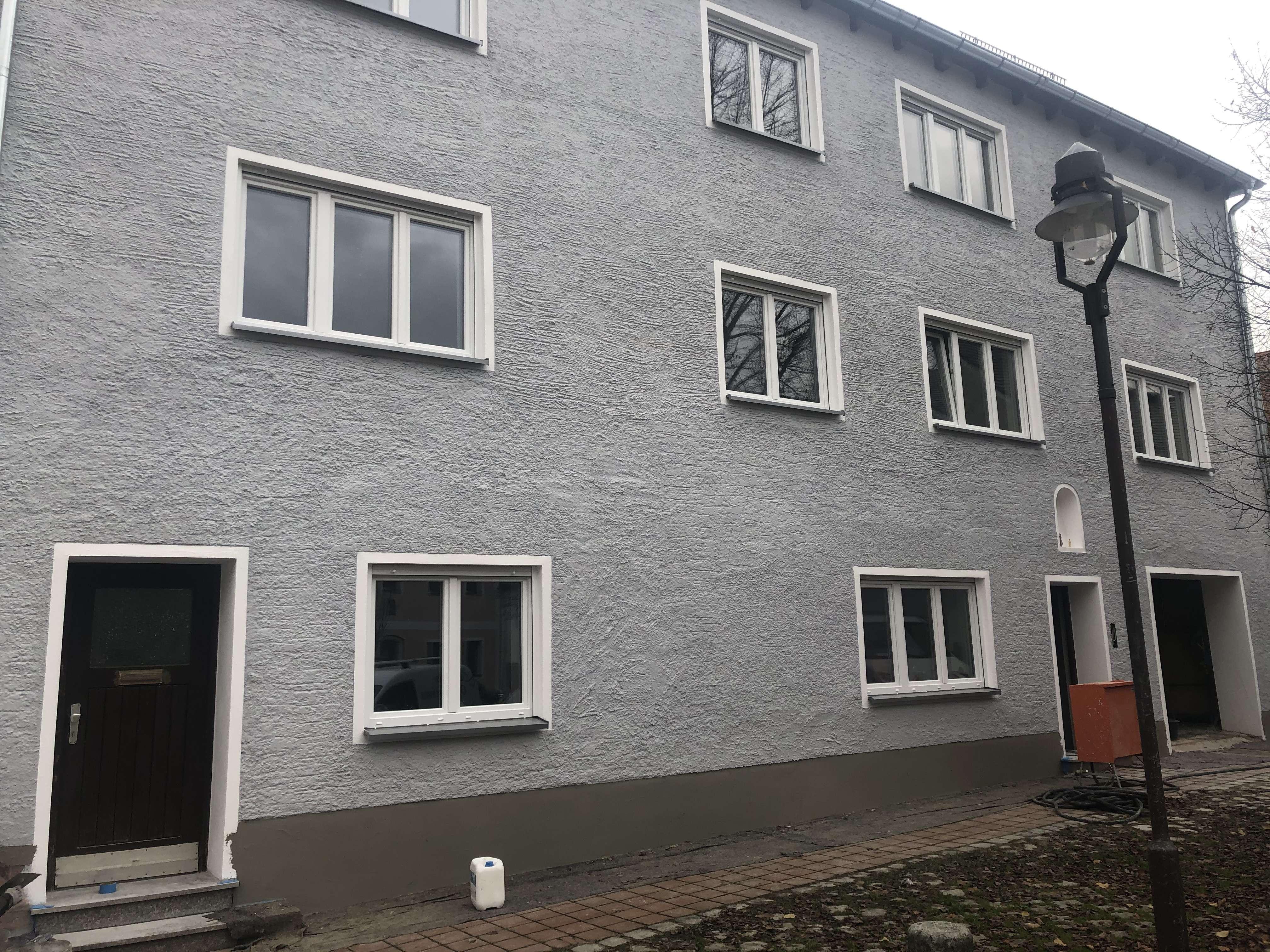 6 Zi. Wohnung mit Dachstudio - ERSTBEZUG nach Generalsanierung Stadtmitte in Neuburg an der Donau