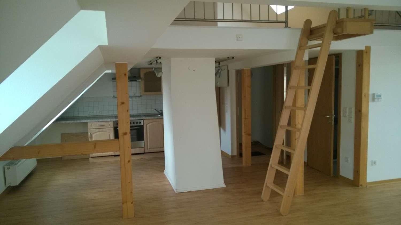 Dachgeschosswohnung mit Spitzboden - Studio im Zentrum in Bad Kissingen