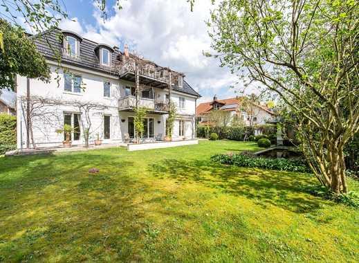 Idyllische, großzügige Gartenwohnung mit Haus-im-Haus-Charakter und idealer Südausrichtung