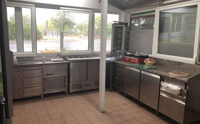 Küche Imbiss