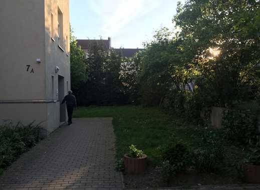 Gepflegte 2-Zimmer-Wohnung im 1. Stock rechts mit Balkon/Gartenbenutzung in Leipzig