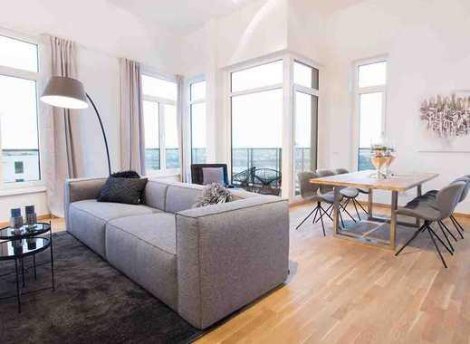 Einzigartige Aussicht! Moderne 4-Zimmer-Penthousewohnung auf ca. 155 m² mit zwei Süd-Balkonen