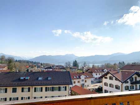 Hochwertige 2 Zimmer-Wohnung mit Seeblick in Gmund am Tegernsee in Gmund am Tegernsee