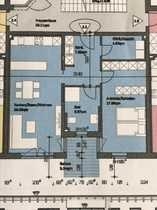 Erstbezug attraktive 2-Zimmer-Wohnung mit Balkon