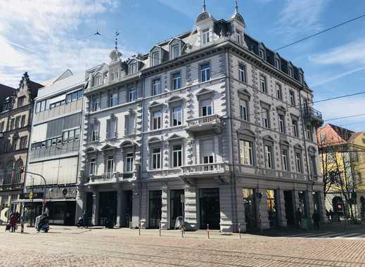 Freiburg Innenstadt:  2 Zimmer Topwohnung (auch WG tauglich) in kernsaniertem historischen Altbau
