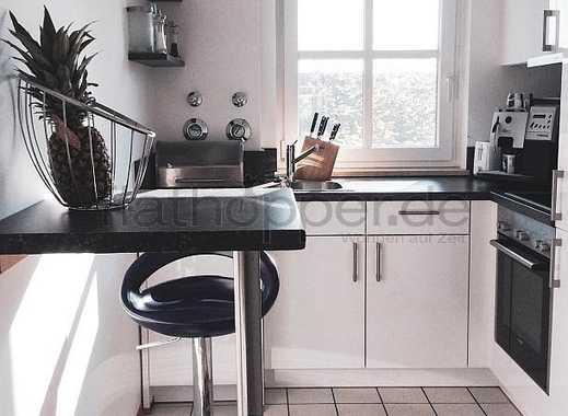 Möblierte 2-Zimmer-Wohnung mit Dachterrasse nahe Parkstadt Schwabing