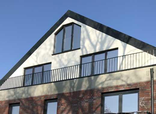 Helle 3,5 Zi-Neubau-Dachgeschoss-Maisonnette-Wohnung zu vermieten! Offene Galerie