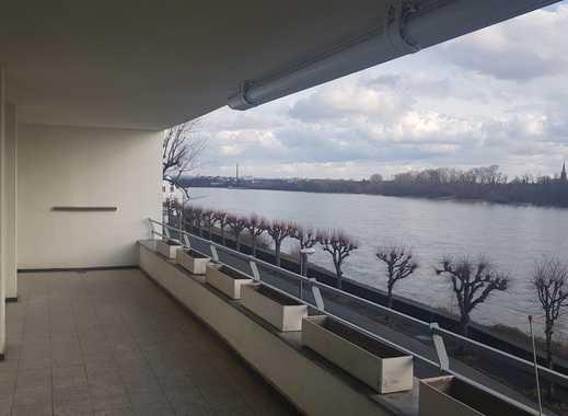 Traumwohnung in Köln Weiß mit Blick auf Siebengebirge - reserviert