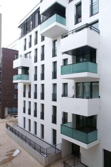 Wohnen in den Wallhöfen: Tolle Erdgeschosswohnung mit großer Terrasse in Neustadt, Hütten 