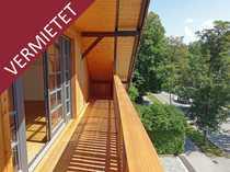 Tolle Neubau-Dachgeschosswohnung mit zwei Balkonen