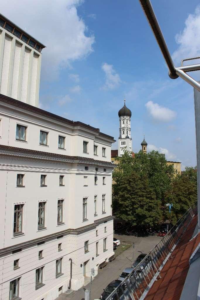 Sehr gut aufgeteilte 3 ZKB gegenüber Stadttheater! in Augsburg-Innenstadt