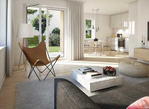 2-Zi.-Wohnung mit Gartenterrasse - Attraktiv ausgestattet, stilvoll gestaltet und lebensfreundlich!