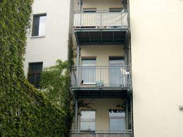 Innenhof Balkon 07.05.14