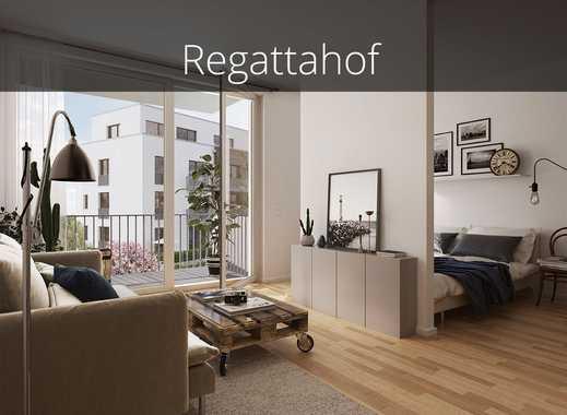 Neubau! Ohne Provision & Top-Kapitalanlage: 1 Zimmer, genialer Schnitt mit Südwest-Balkon