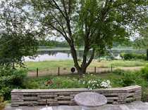 Wunderschönes Wassergrundstück mit Wochenend-Ferienhaus und