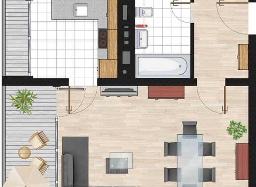 Geräumige 2 Zimmer Wohnung mit Balkon in Oberschleißheim Zentral