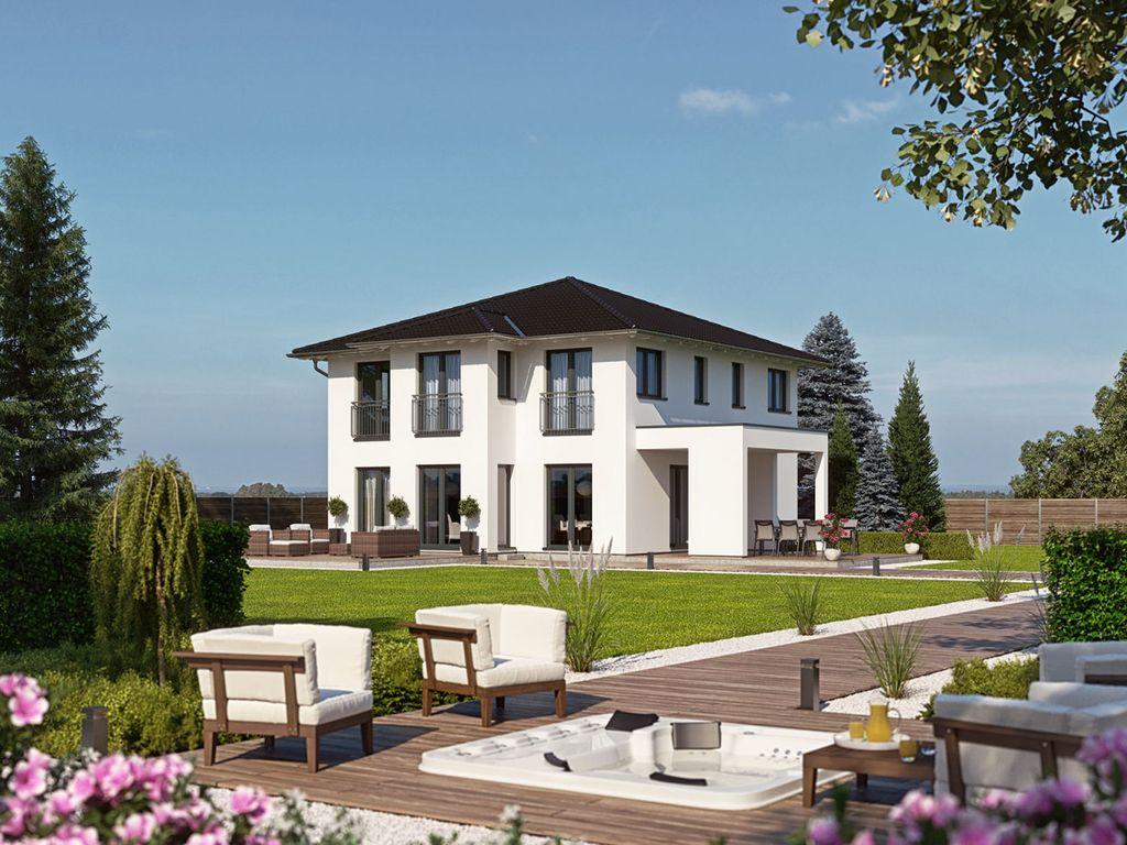Mediterrane Stadtvilla moderne mediterrane stadtvilla haas o 163 b