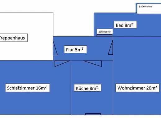 2-Zimmer-Wohnung in ruhiger Lage in saniertem Altbau