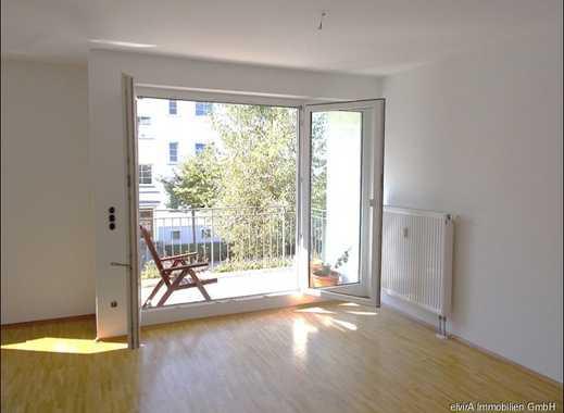 elvirA! Untergiesing, schöne und helle 2-Zimmer-Wohnung mit großem Südwestbalkon