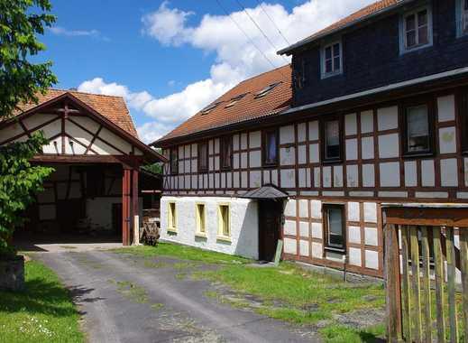 Idyllisch gelegene Mühle mit Wohnhaus und Nebengebäuden - Nähe Heldburg