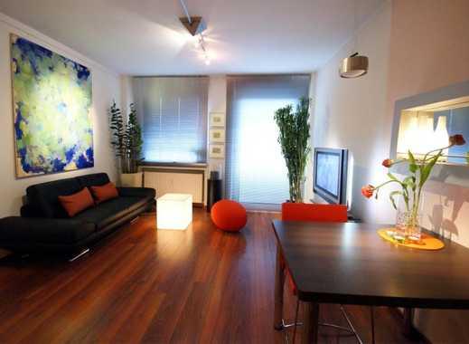 REUTER IMMOBILIEN Modern möblierte, helle Dreizimmer-Businesswohnung im Belgischen Viertel