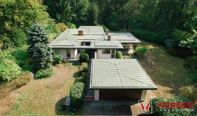 3D-Immobilie:*Idyllischer Bungalow mit Sauna, Doppelgarage ...