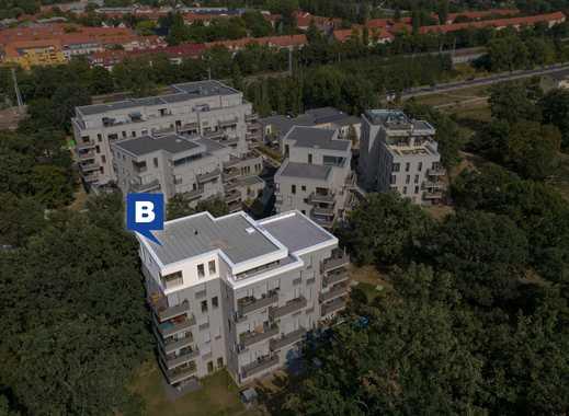 Erstbezug – Lichtdurchflutete Dachterrassen-Penthouse-Wohnung in ruhiger, grüner und zentraler Lage