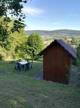 Gartengrundstück mit schöner Sitz- und